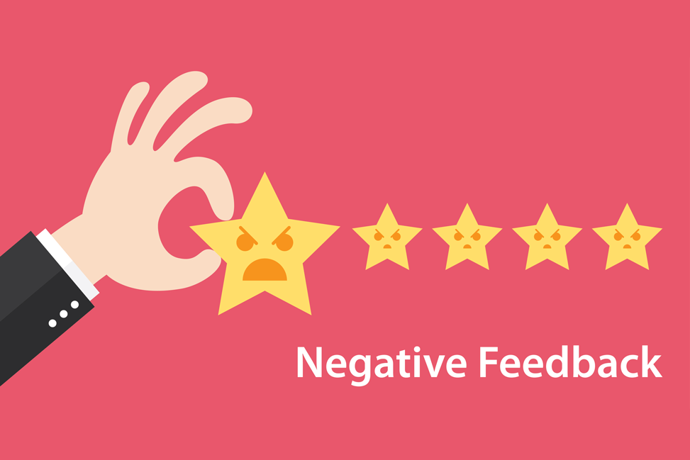 Preventing negative feedback on Amazon