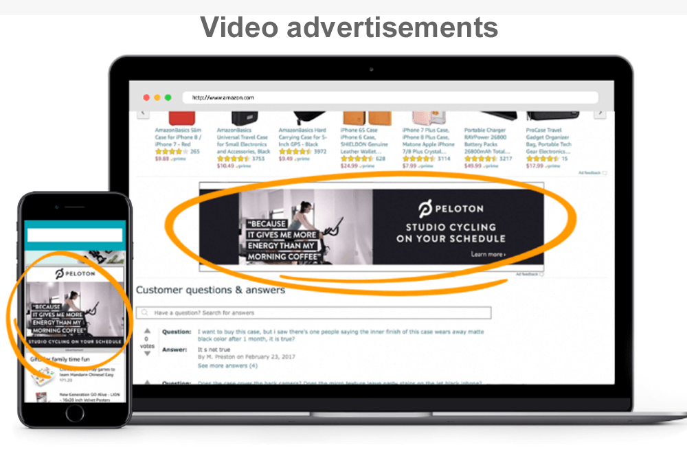 Video-advertisements