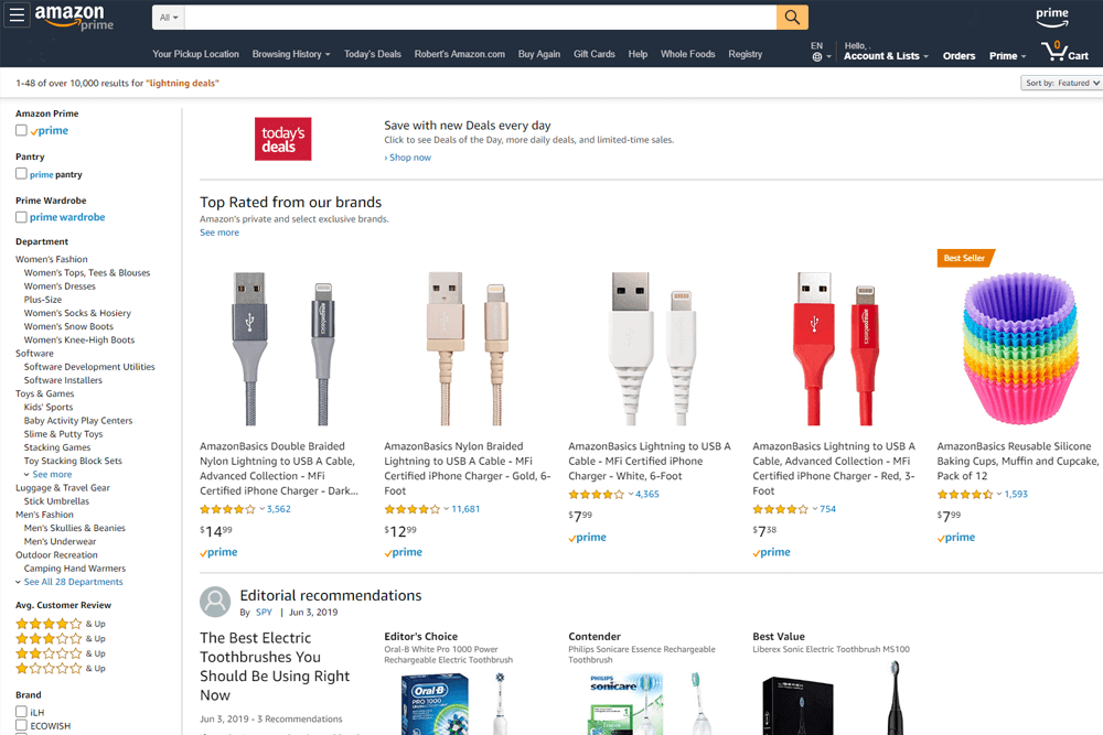 Amazon Lightning Deal