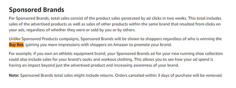 amazon Sponsored Brands