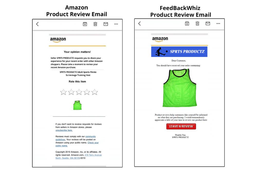 Customizing amazon emails