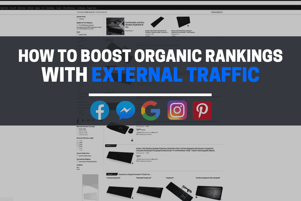 How to boost organic rankings with external traffic
