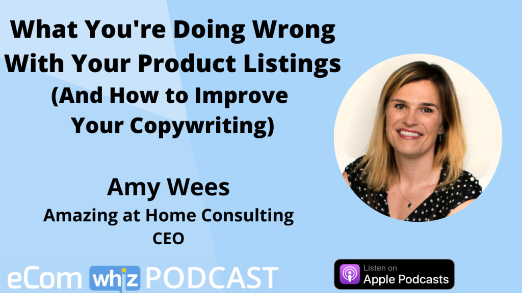 amy wees ecomwhiz podcast